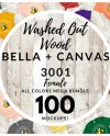 Women S Bella Canvas 3001 T Shirt Mockup Mega Bundle All Etsy