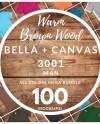 Male Bella Canvas 3001 T Shirt Mockup Mega Bundle All Colors Etsy