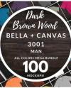 Men S Bella Canvas 3001 T Shirt Mockup Mega Bundle All Etsy