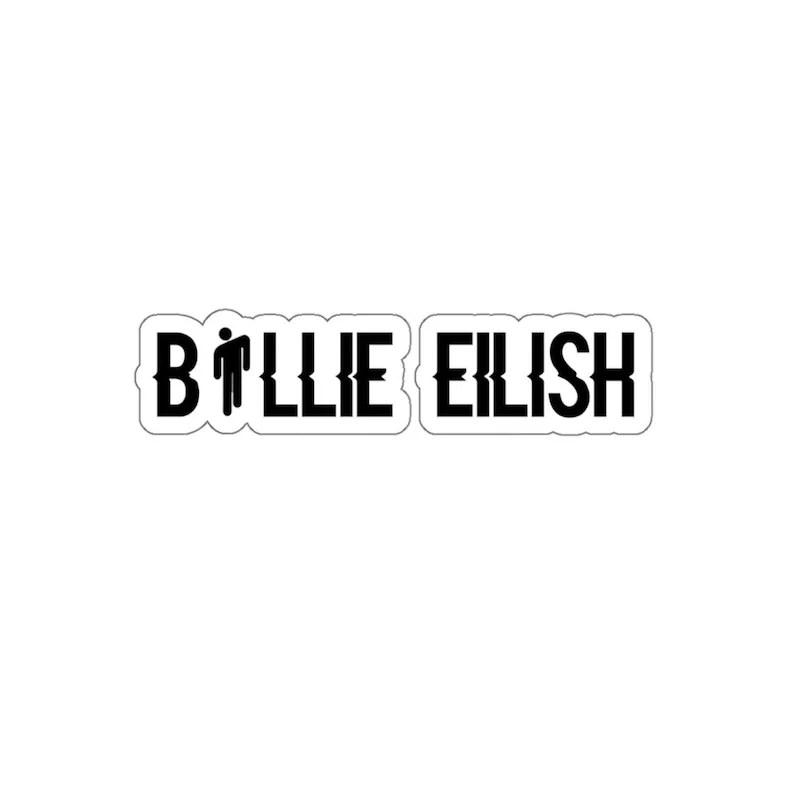 billie eilish decal stickers for women love billie eilish