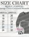 Bella Canvas 3901 Sweatshirt Mockup Dark Gray Marbletemplate Etsy