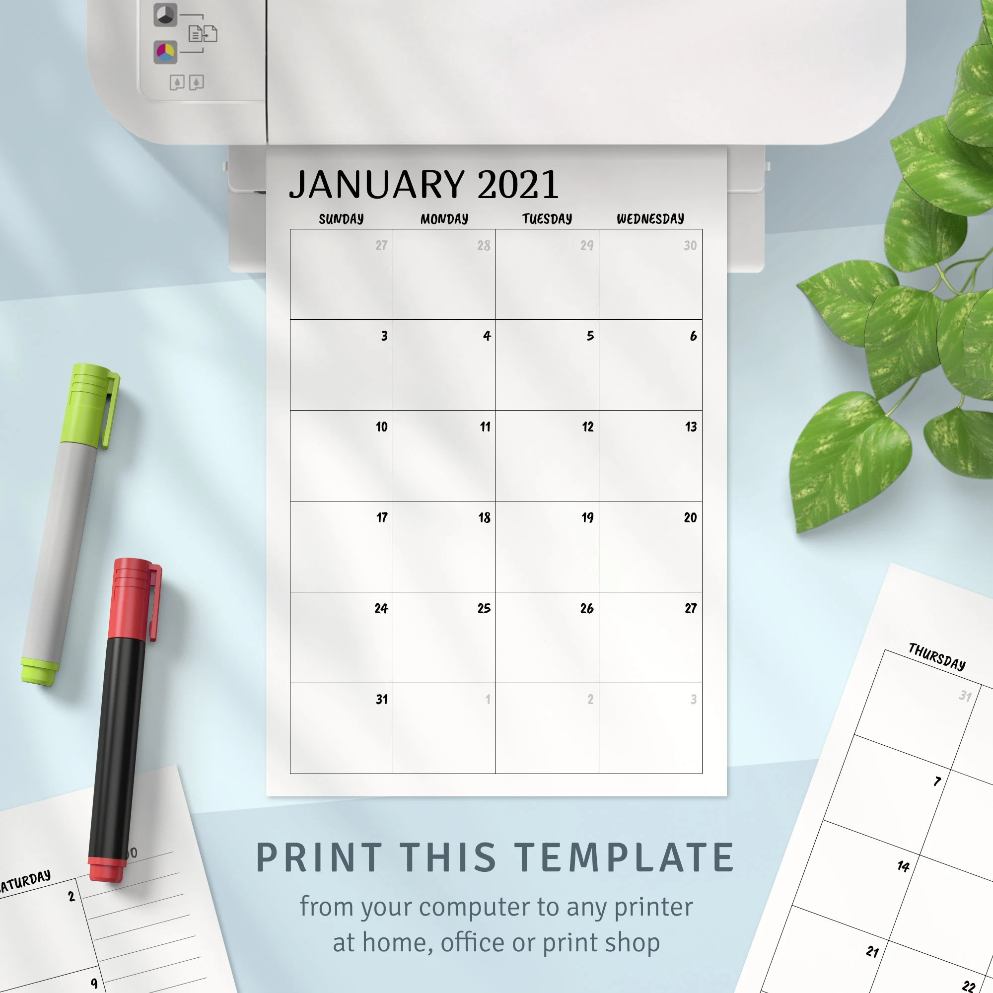 No events are currently scheduled. Printable Calendar Monthly 2021 2022 Month on Two Page | Etsy