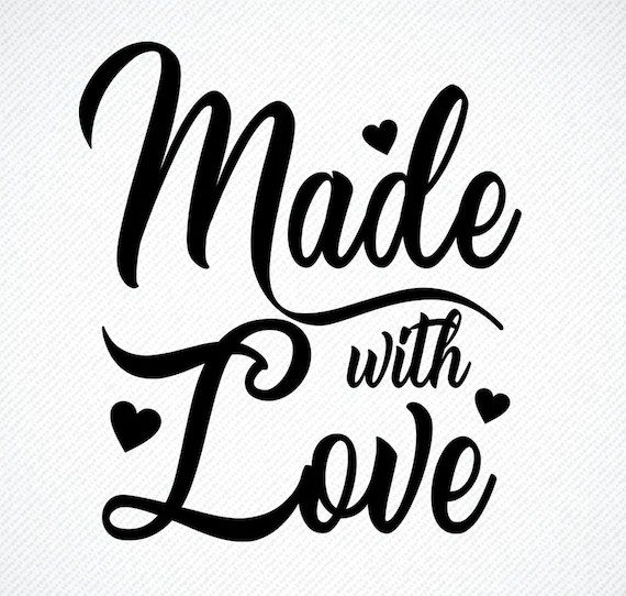 Download Made with love SVG Made with love Made with love png   Etsy