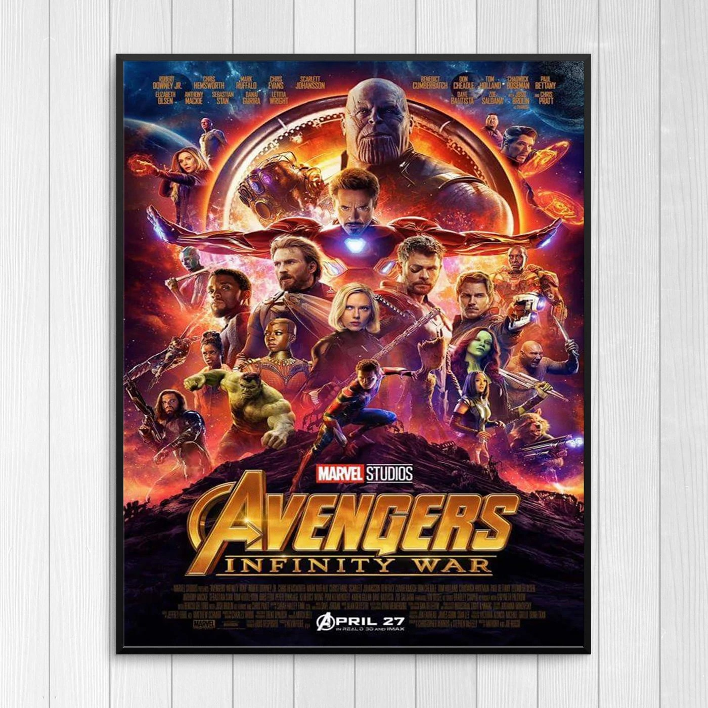marvels avengers infinity war movie poster print infinity war 2 2019 wall art films cinema a6 a5 a4 a3 a2 maxi home decor pictures