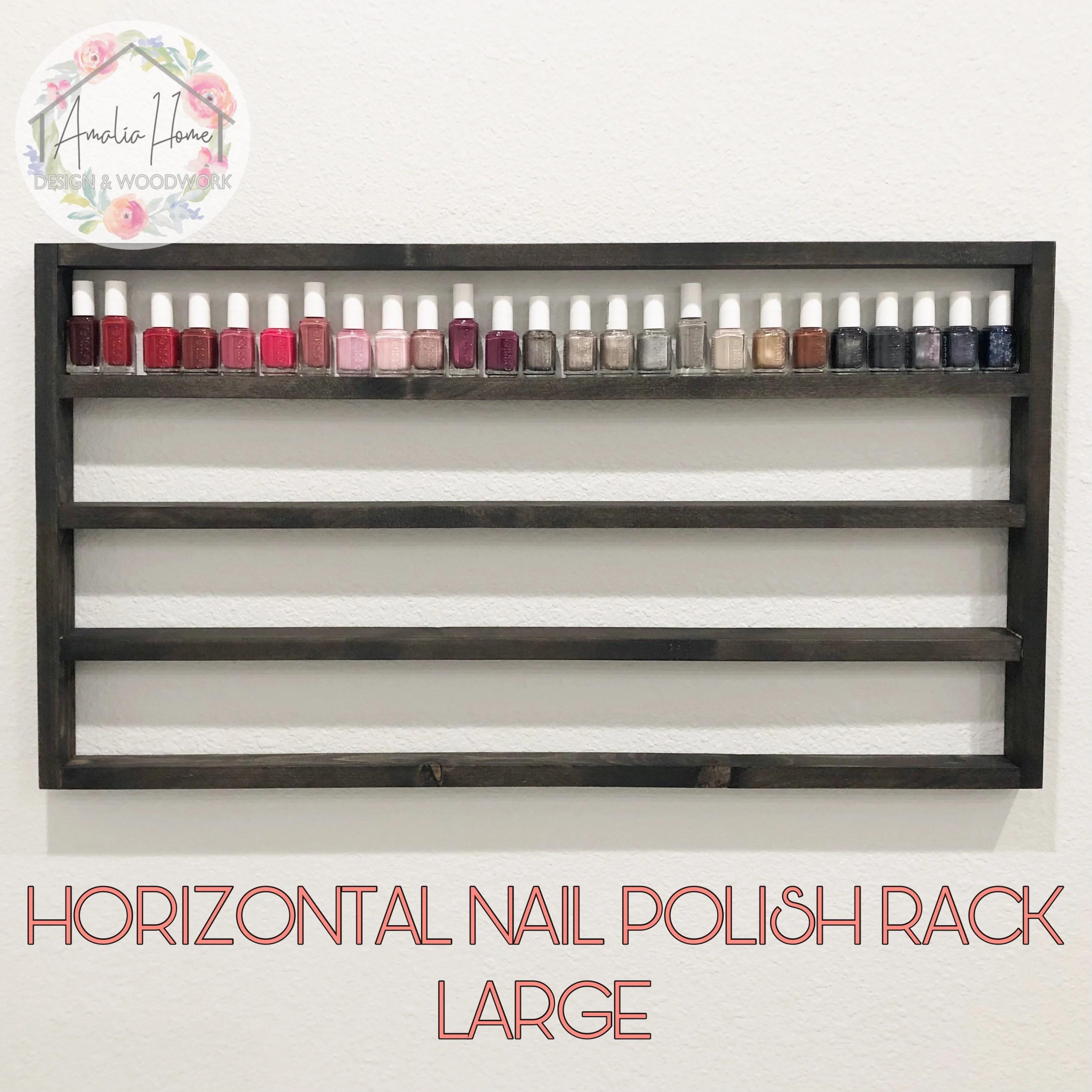 nail polish rack etsy
