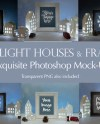 Lit Houses Photo Frames Mockup Mega Bundle 6 High Quality Etsy