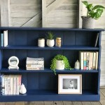 Sold Sold Low Rise Vintage Midnight Blue Bookcase