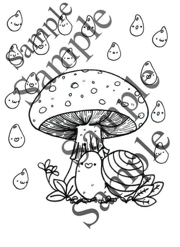 forest coloring page # 48
