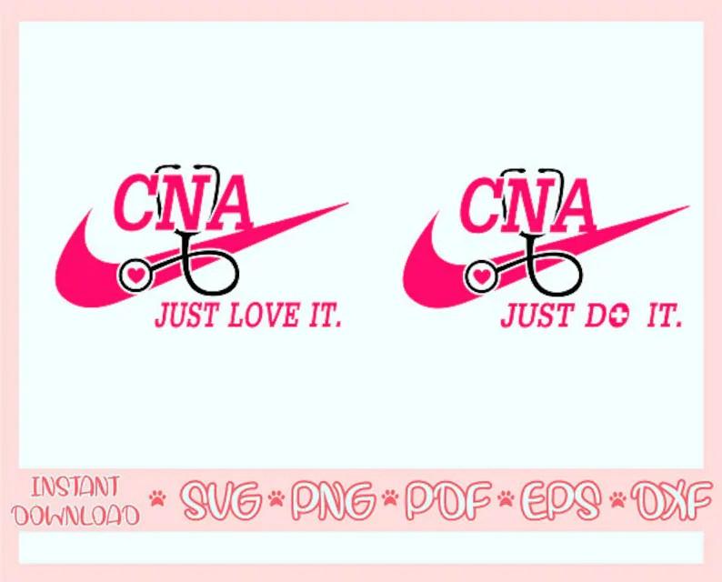 Download CNA just love it svgCNA jut do it svgCna svgCna svg | Etsy