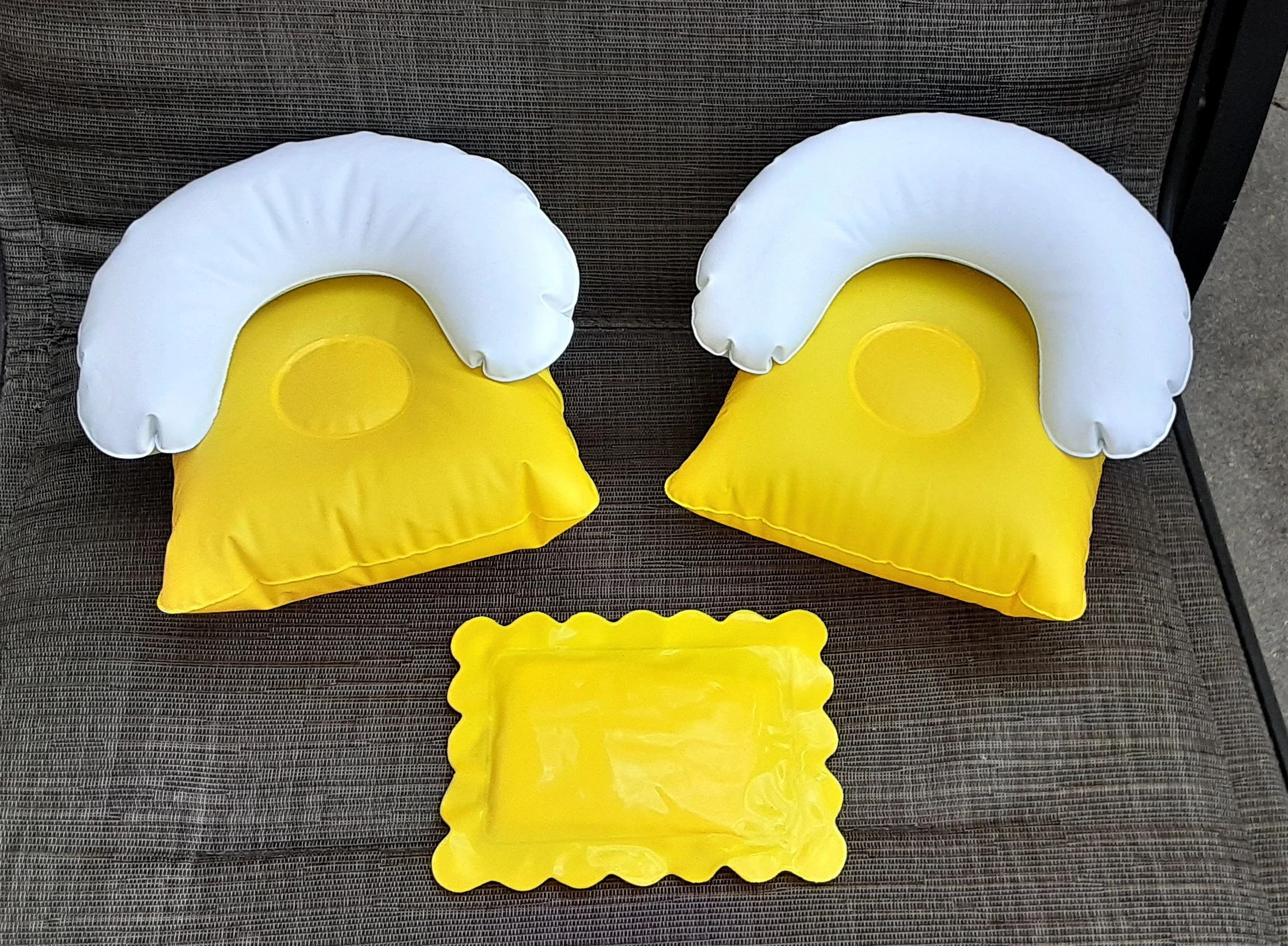inflatable pillow etsy