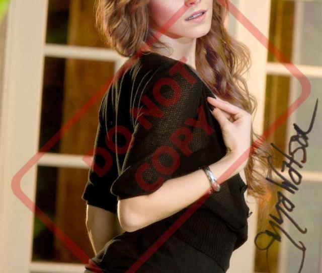 Emma Watson Sexy  X Autographed Signed Reprint Photo Etsy