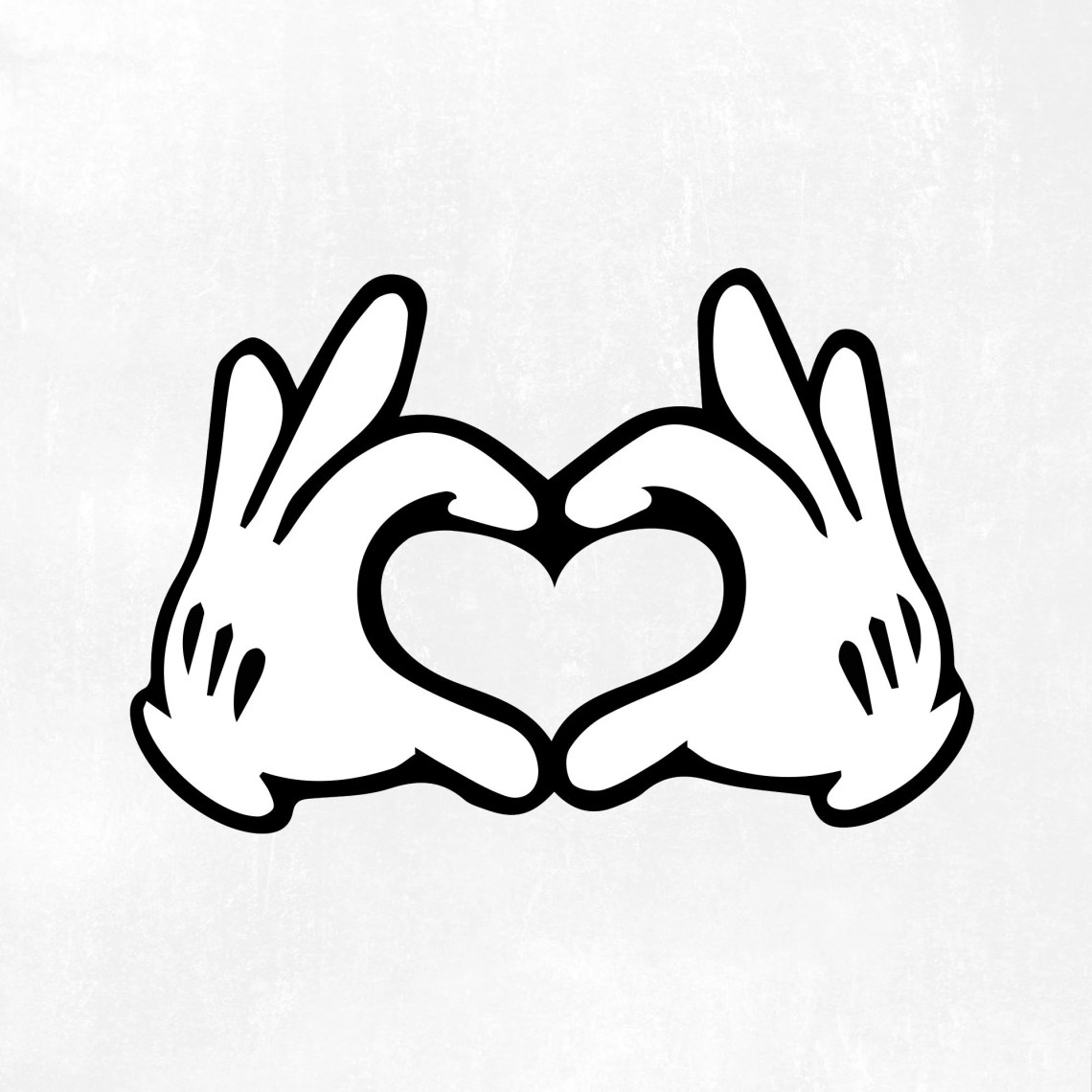 Download Mickey hands heart Svg Disney svg files Mouse Hand Heart ...