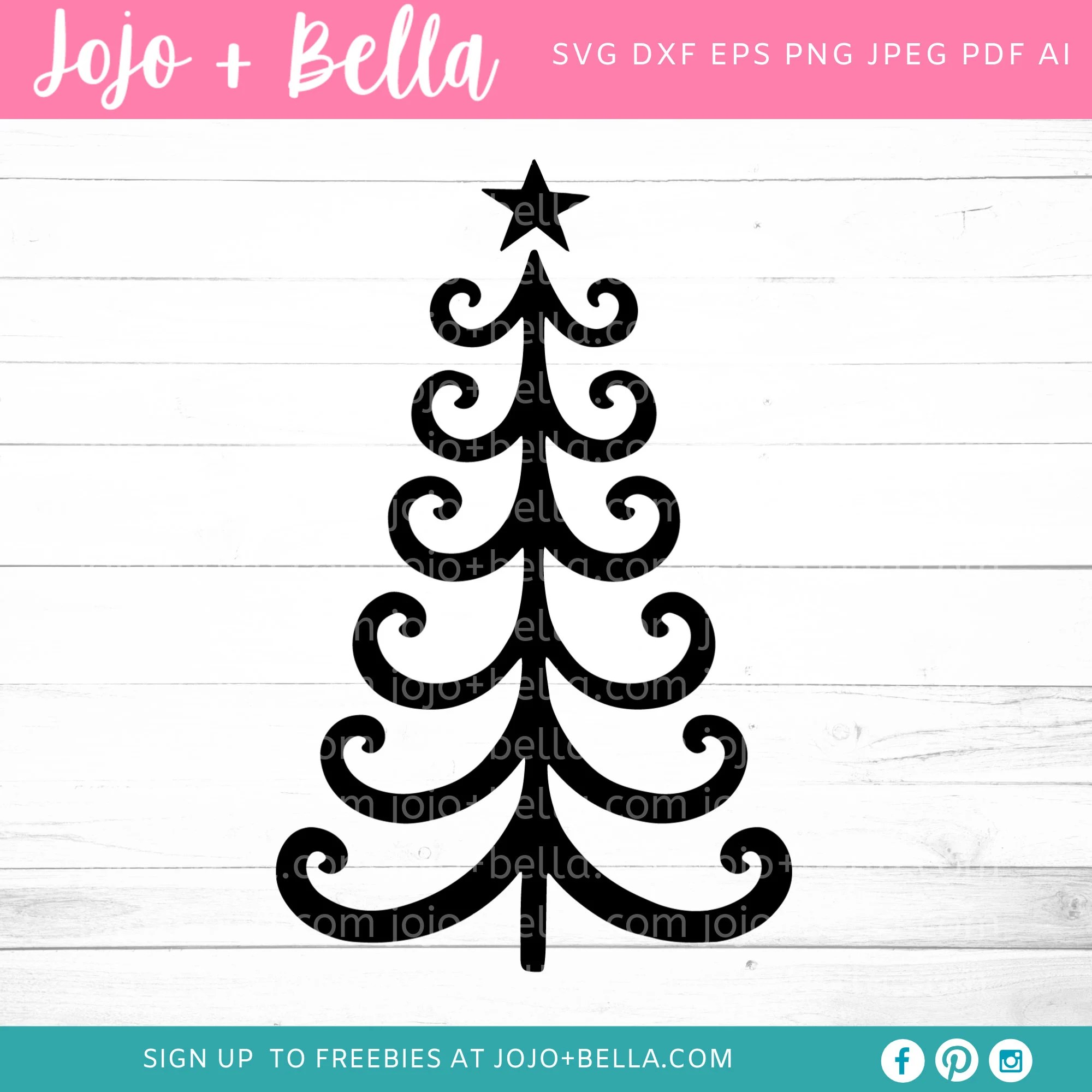 We may earn commission on some of the items you choose to buy. Swirly Christmas Tree Svg Christmas Tree Svg Swirly Etsy