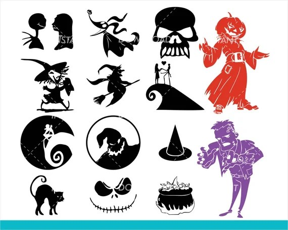 Download 22+ Nightmare Before Christmas Svg Free Images Free SVG ...