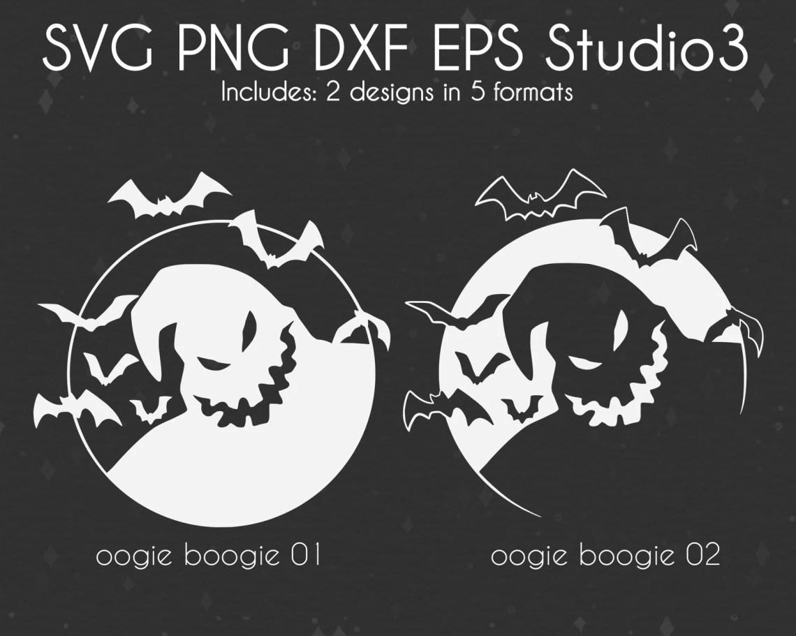 Download Nightmare Before Christmas SVG Cut Files Oogie Boogie Man ...