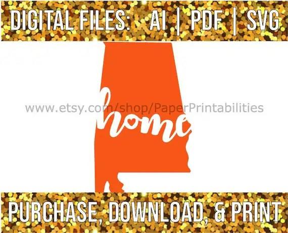 Home · videos · series · sweet home; Home Auburn Printable Art Football Season State Art Wall Etsy
