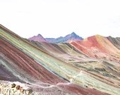 Rainbow Mountain Hiking Trail, Peru