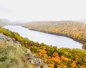 Mountain Lake Fall Colors