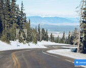 Icy Mountain Road