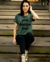 Bella Canvas 3001 Heather Forest Shirt Mockup Heather Forest Etsy