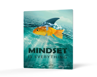 mindset fish print etsy