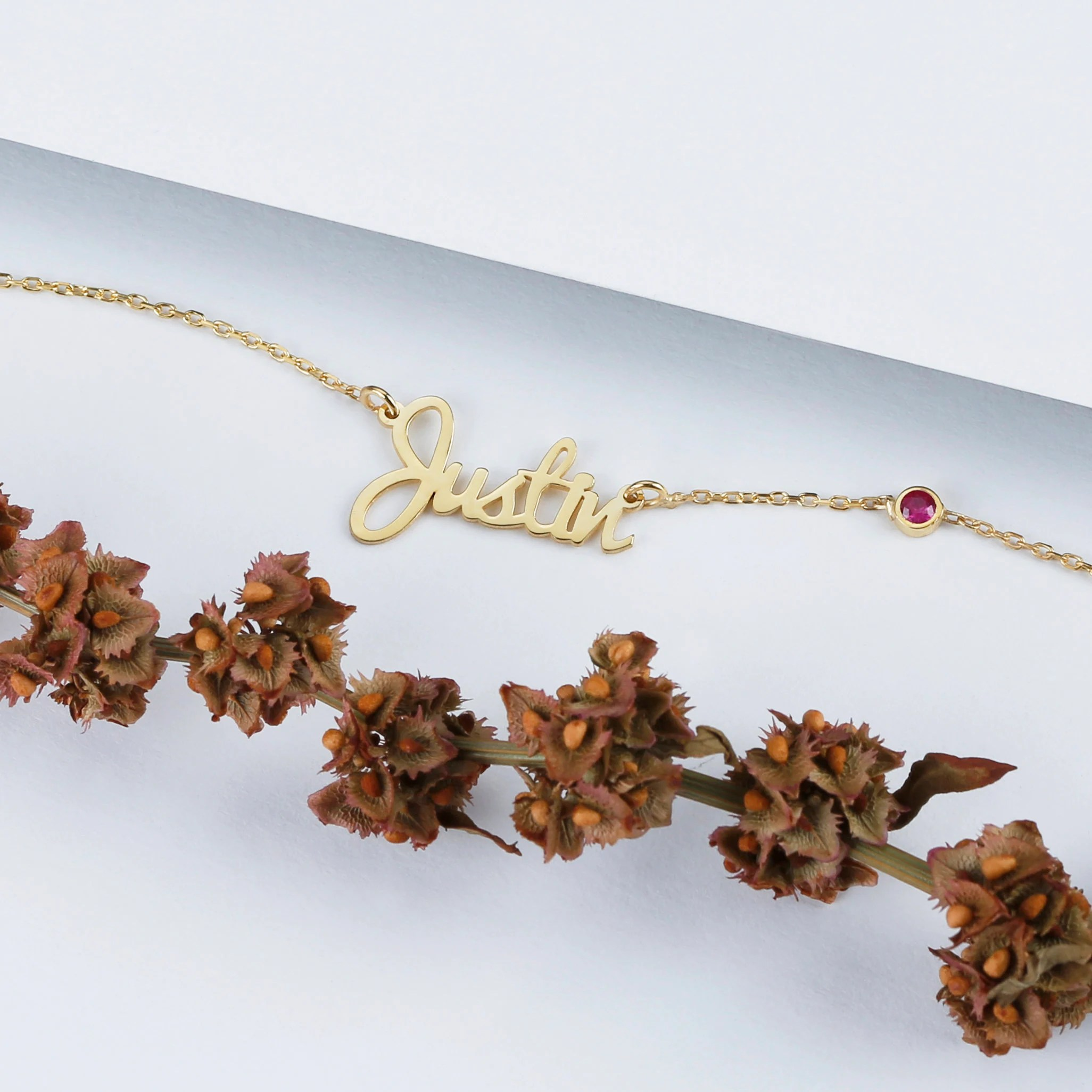Personalized Name Necklace  Silver  Gold  Rose Gold  Gift image 5