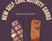 30 Love Yourself Activity Cards:  Self-Love with intentional activity prompts for self love