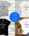 Gildan Softstyle Mock Up Bundle T Shirt 64000 Shirt Mockup Etsy