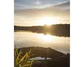 Sonnenuntergang, Fine Art Druck, Fotografie Kunstdruck, See und mehr, Landschaftsfotografie, Druck Natur, Wandbild, Druck Foto, Natur Foto