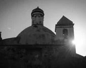 Fine Art Fotografie schwarz weiß, Foto Silhouette, Kunstdruck schwarz weiß, Fotografie Italien, Urlaub zu Hause, Fine Art Druck schwarz weiß
