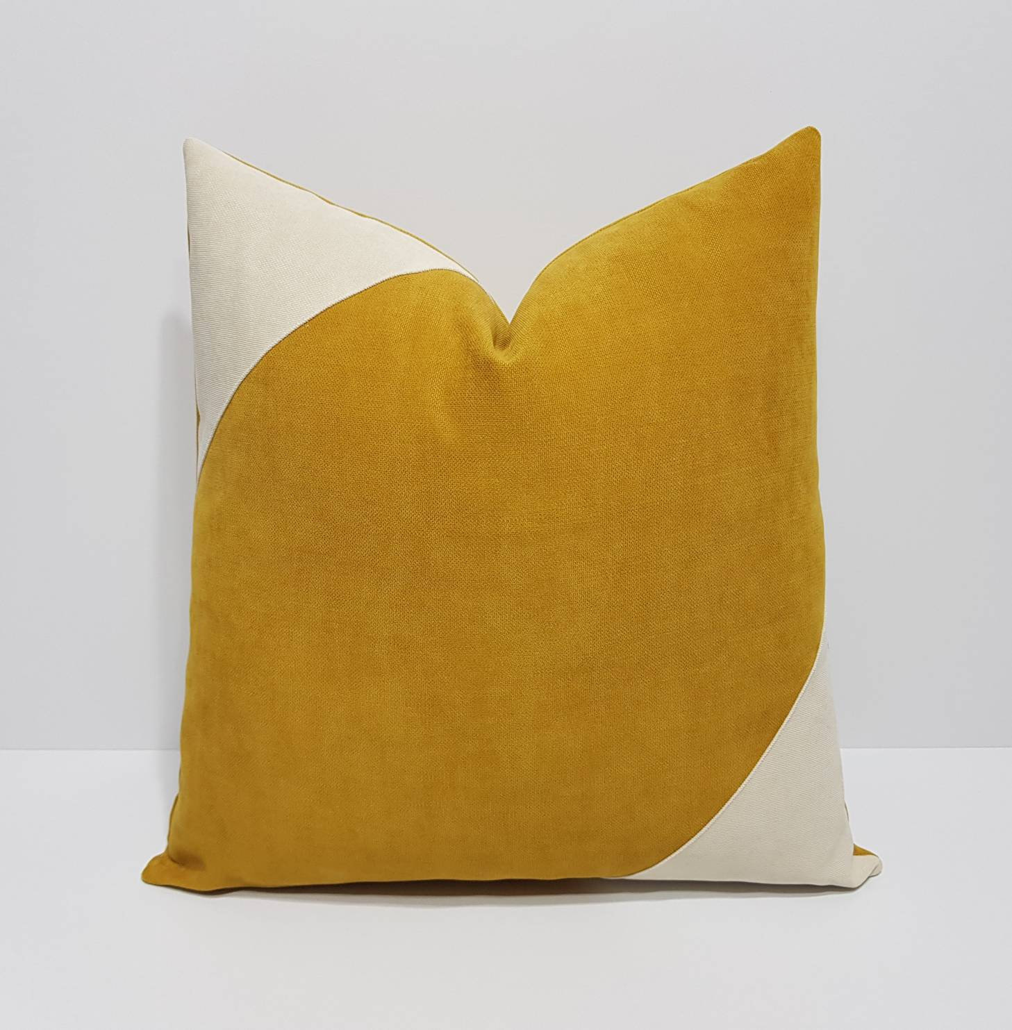 mustard pillow cover etsy