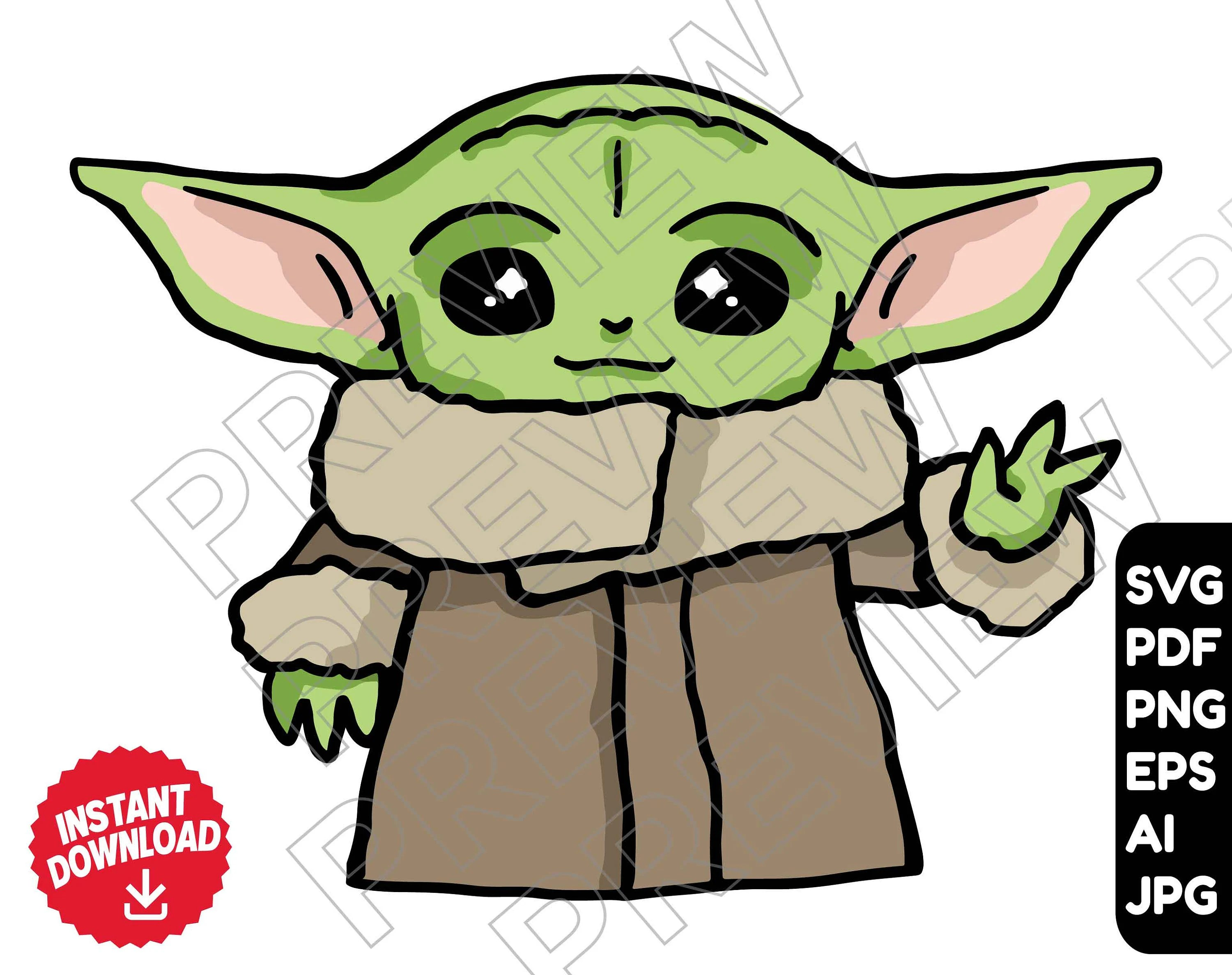 Baby Yoda Svg Grogu Clipart Novocom Top He is a toddler member of the same unnamed alien species as the star wars characters yoda and yaddle. baby yoda svg grogu clipart novocom top