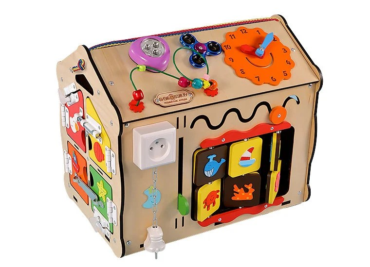 Montessori busy box for toddlers,busy board diy, Maison busybox, Sensory board for toddlers                                                                    BearBeachside         From shop BearBeachside                                                               CA$290.94                                                Only 2 available and it's in 1 person's basket