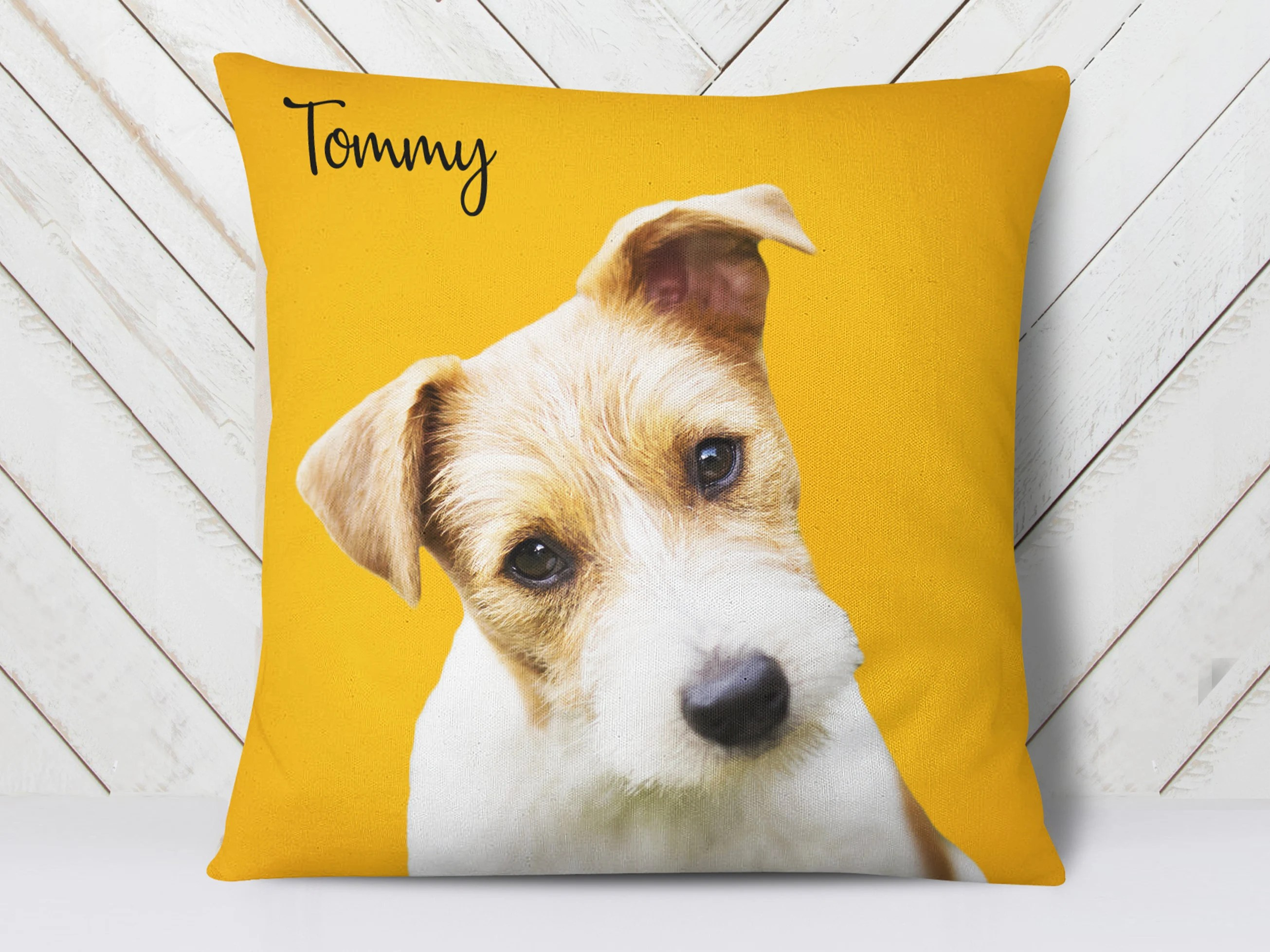 dog face pillow etsy