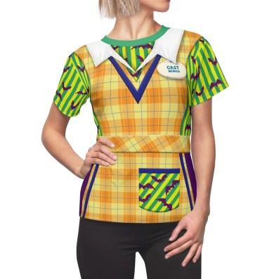 Mickey's Not So Scary Cast Member Women's Shirt 2XL