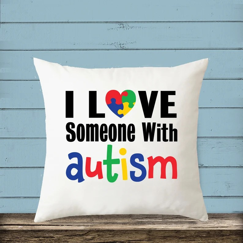 Download I Love Someone With Autism SVG / Autism Puzzle Heart ...