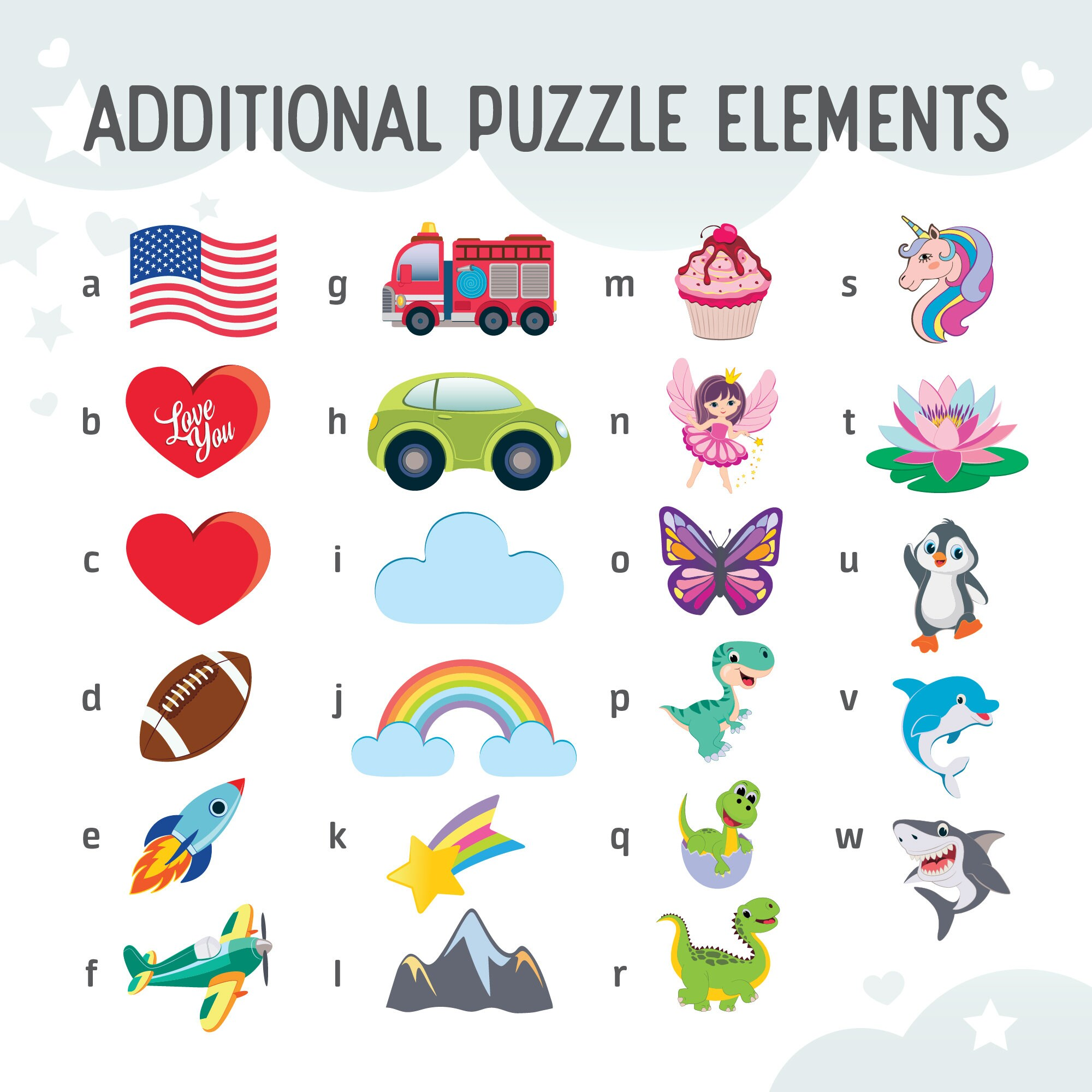 Name Puzzle  Toys Name Puzzle  Baby Girl  First Birthday image 5
