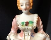 Japan Figurine of Courtesan with Music Book