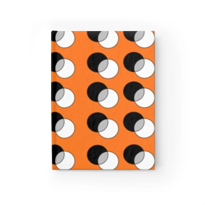 Blank Journal With Cool Art Cover 45  Retro custom gift image 0