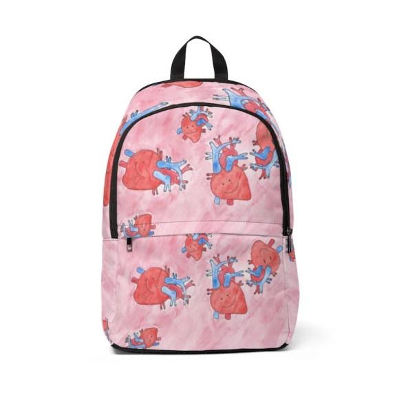 Urban Art Mid-sized Backpack 3  Retro custom gift  backpacks image 0