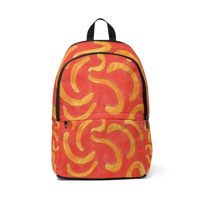 Urban Art Mid-sized Backpack 6  Retro custom gift  backpacks image 0