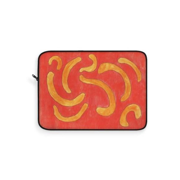 Cool Art Laptop Sleeve 17  Retro custom gift line art pop image 0
