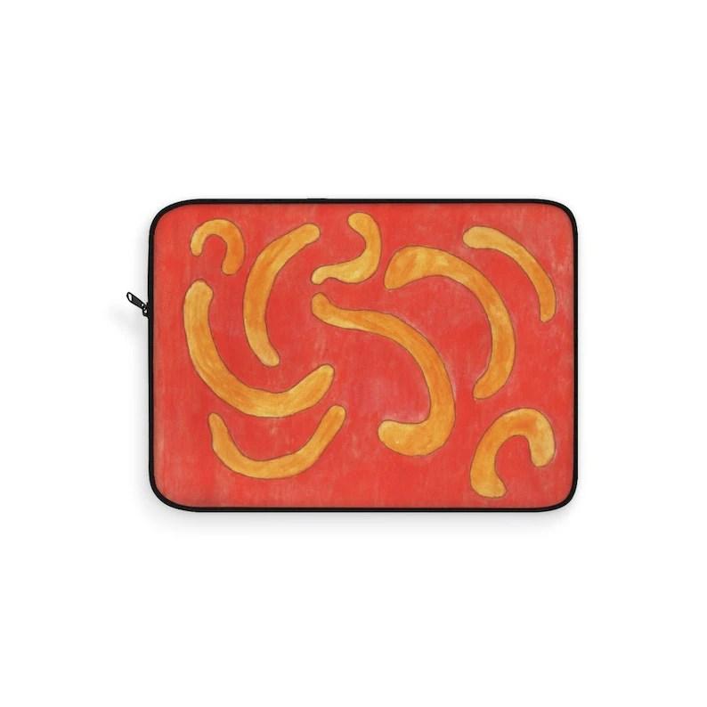 Urban Art Laptop Sleeve 17  Retro custom gift line art pop image 0