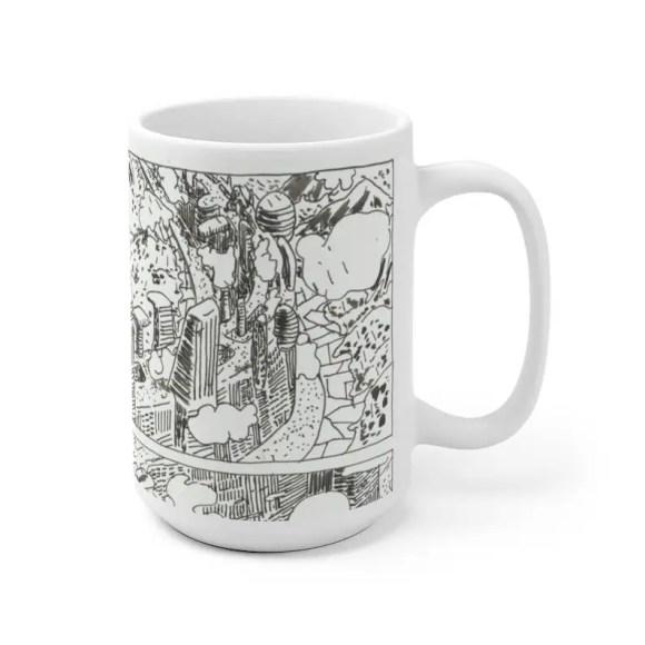 Cool Art Mug 2 sizes 72  Retro custom gift unique mugs with image 0