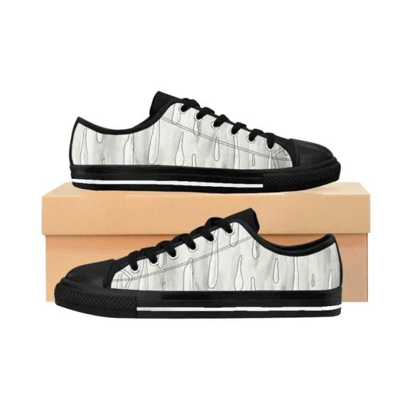 Urban Art Sneakers 2  Retro custom gift handmade pop art image 0