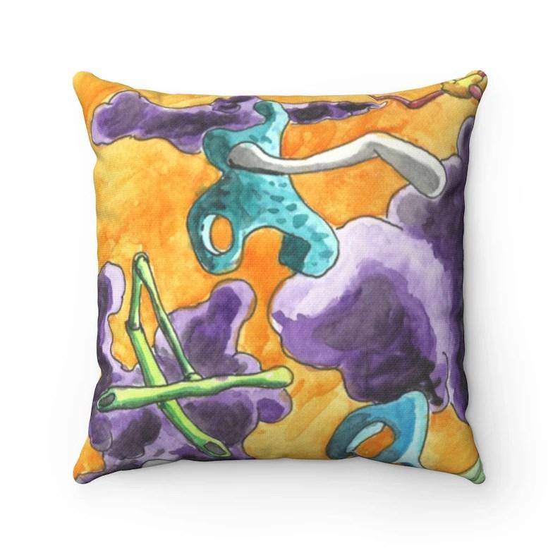 Urban Art Throw Pillows 17  Retro custom gift decorative image 0
