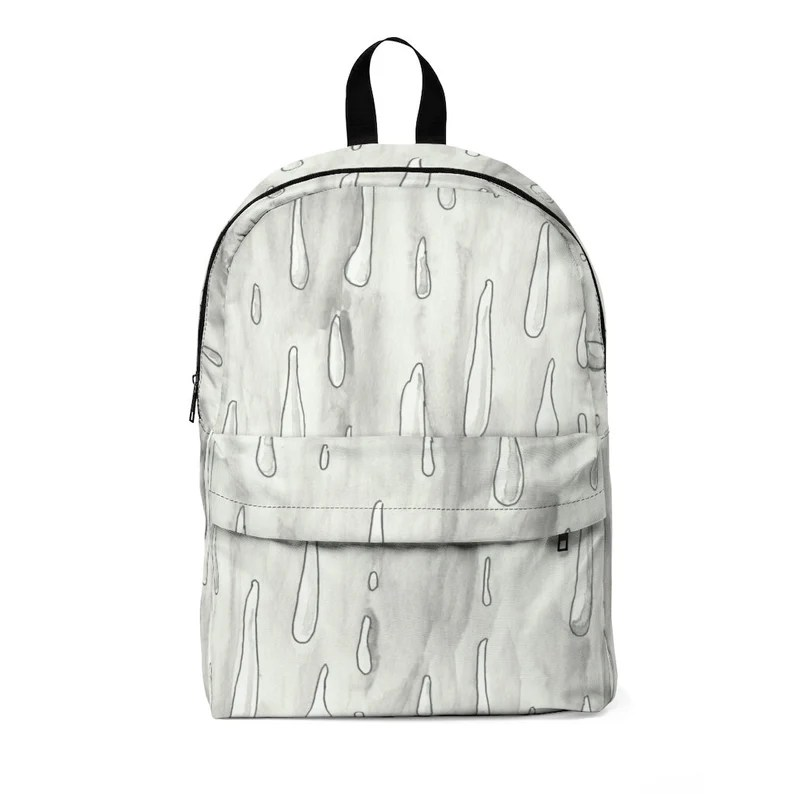 Urban Art Large Backpack 1  Retro custom gift  backpacks image 0