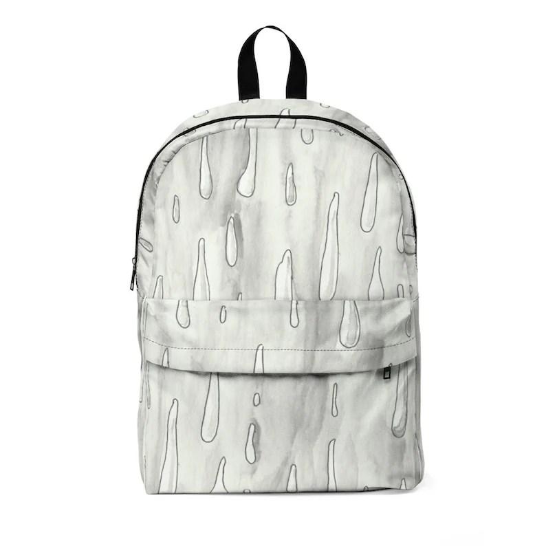 Urban Art Large Backpack 1  Retro custom gift  backpacks image 0