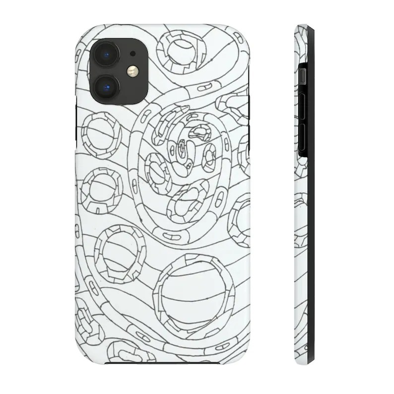 Cool Art Phone Case 13  Retro custom gift designer image 0