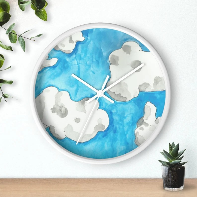 Urban Art Wall Clock 2  Retro custom gift designer image 0